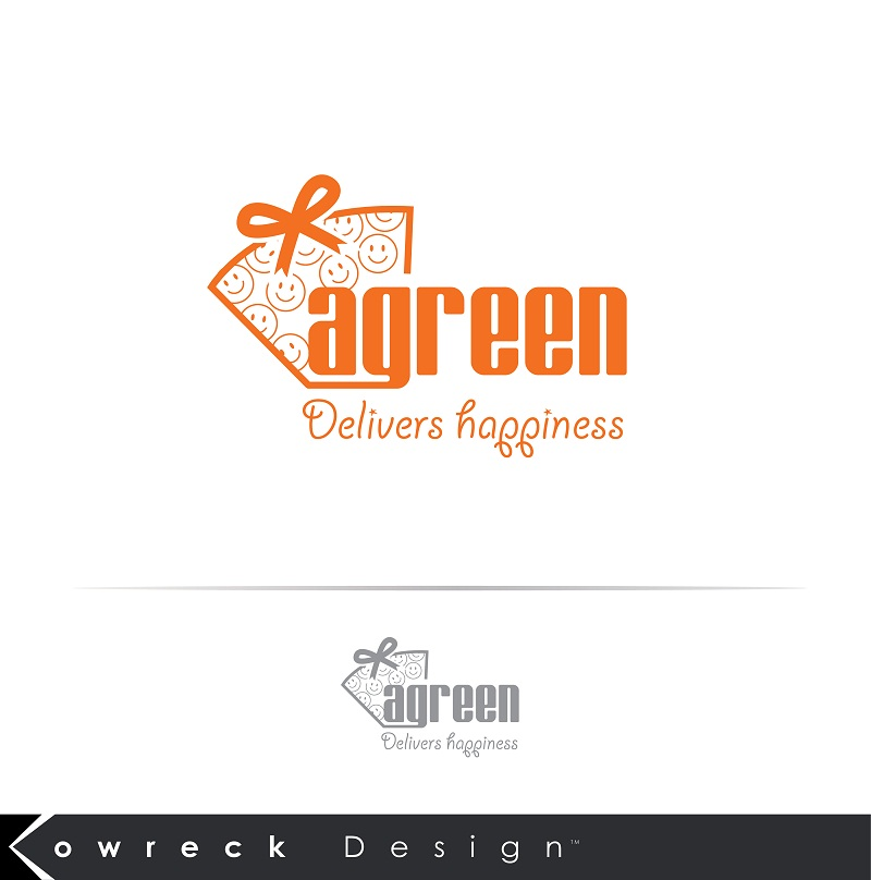 Logo Design by kowreck - Entry No. 120 in the Logo Design Contest Inspiring Logo Design for Agreen.