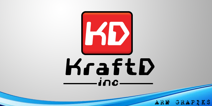 Logo Design by Aries Monta - Entry No. 290 in the Logo Design Contest Unique Logo Design Wanted for Kraft D Inc.