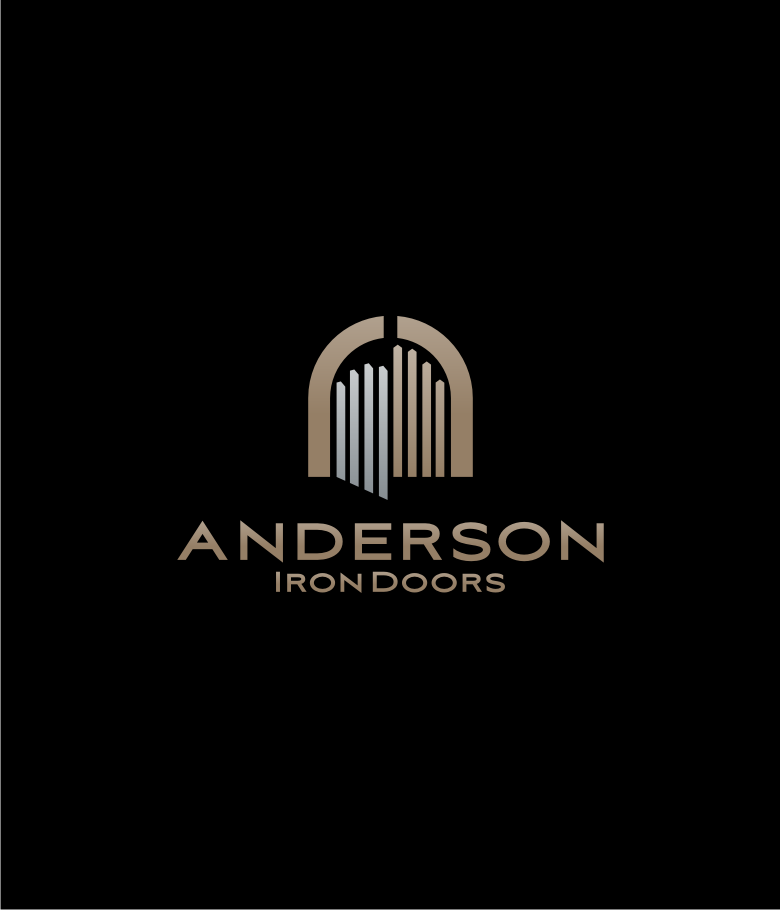 Logo Design by graphicleaf - Entry No. 25 in the Logo Design Contest Artistic Logo Design for Anderson Iron Doors.