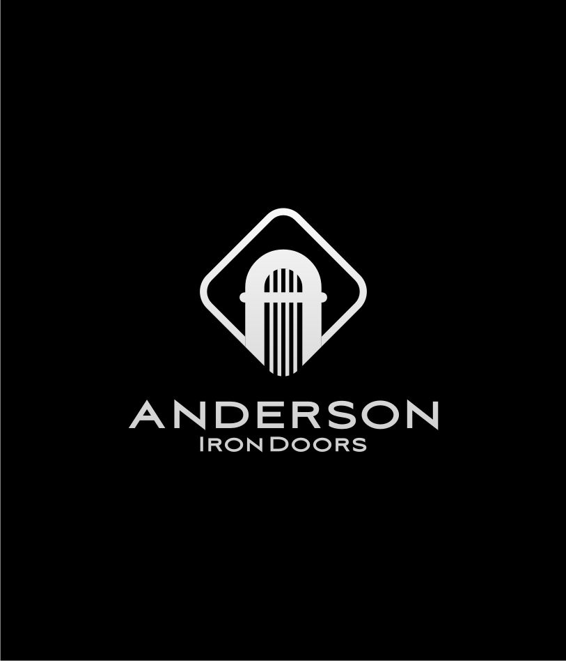 Logo Design by graphicleaf - Entry No. 26 in the Logo Design Contest Artistic Logo Design for Anderson Iron Doors.