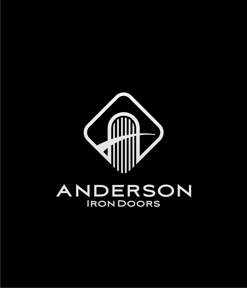 Logo Design by graphicleaf - Entry No. 27 in the Logo Design Contest Artistic Logo Design for Anderson Iron Doors.