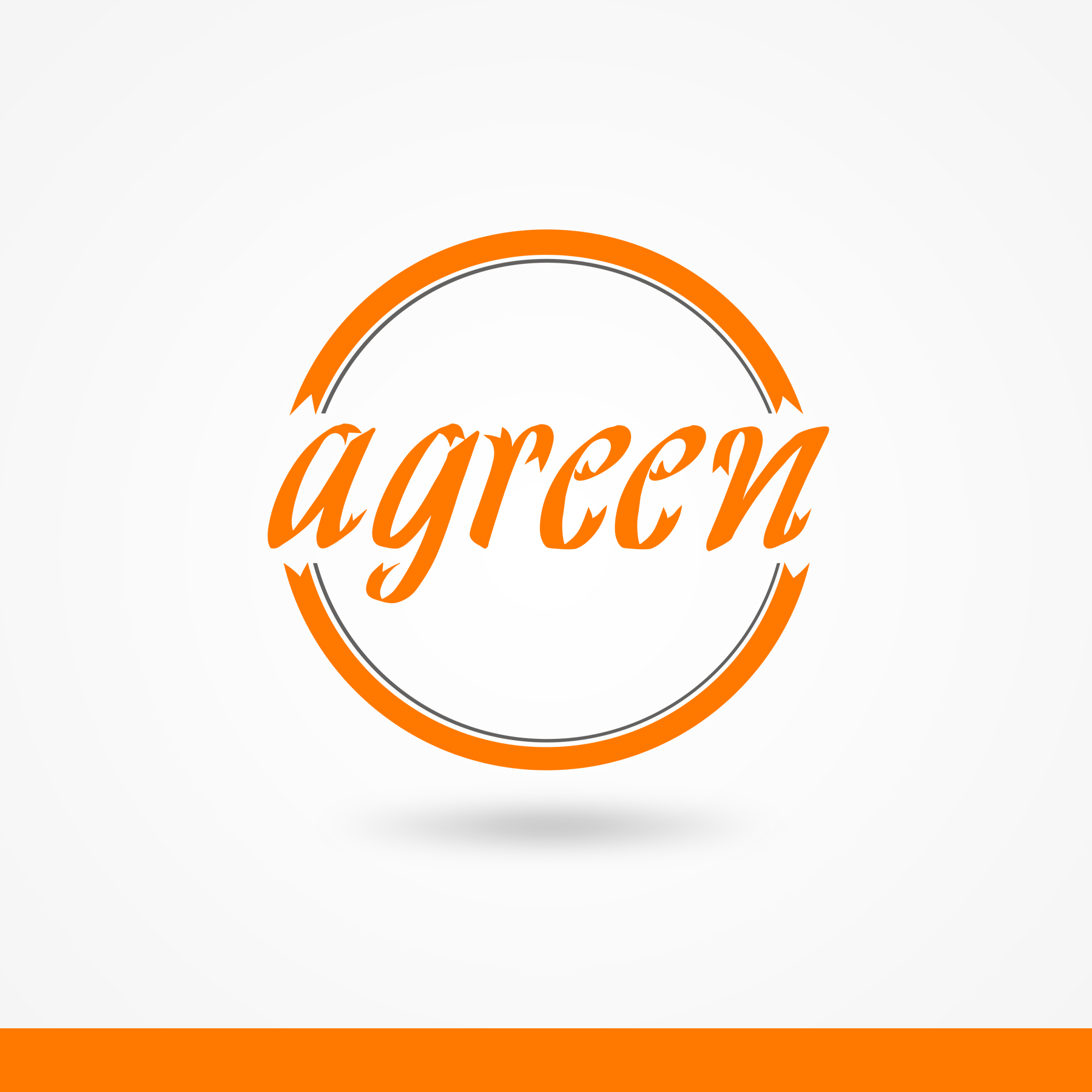 Logo Design by omARTist - Entry No. 121 in the Logo Design Contest Inspiring Logo Design for Agreen.
