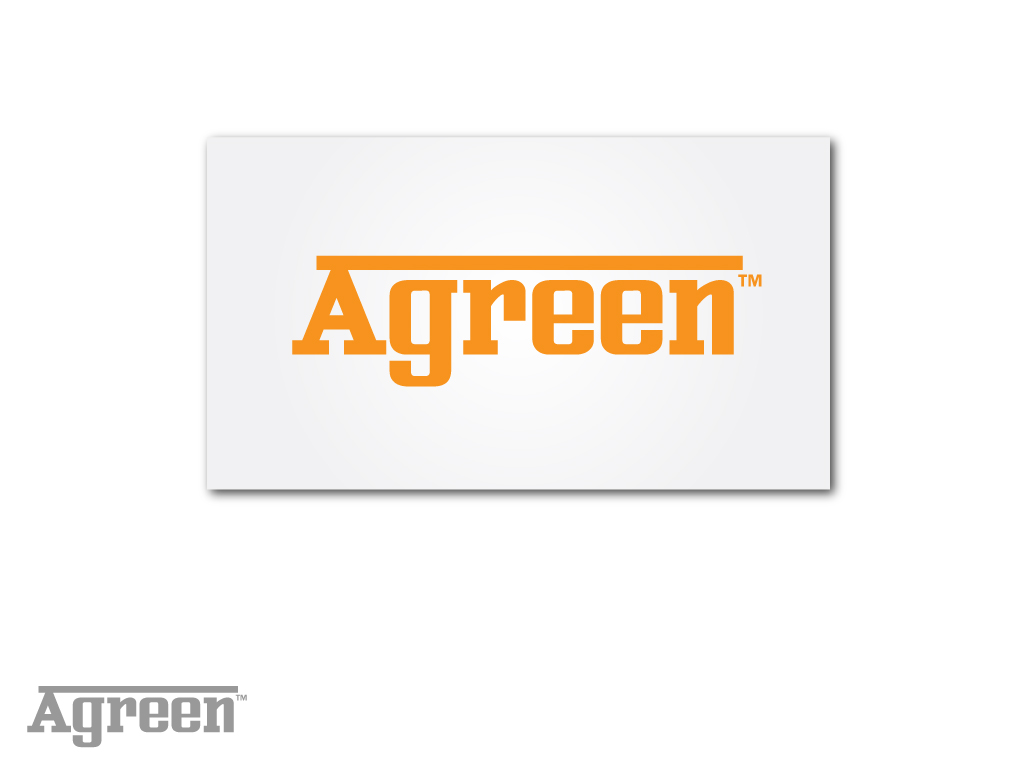 Logo Design by Jagdeep Singh - Entry No. 122 in the Logo Design Contest Inspiring Logo Design for Agreen.