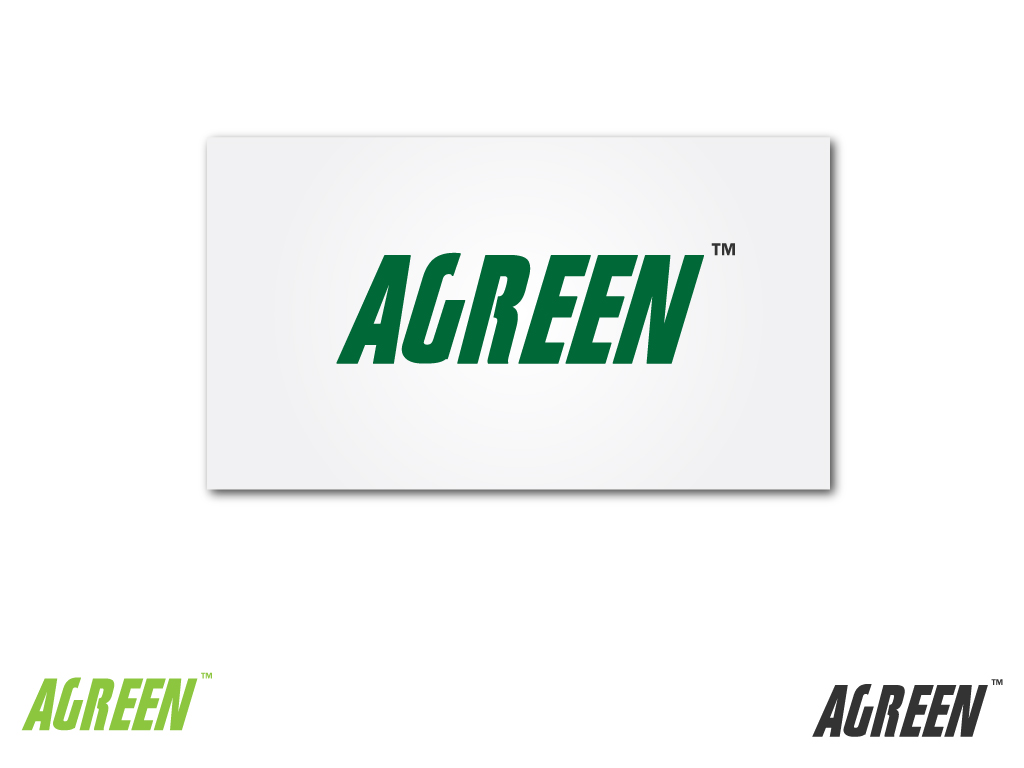 Logo Design by Jagdeep Singh - Entry No. 123 in the Logo Design Contest Inspiring Logo Design for Agreen.