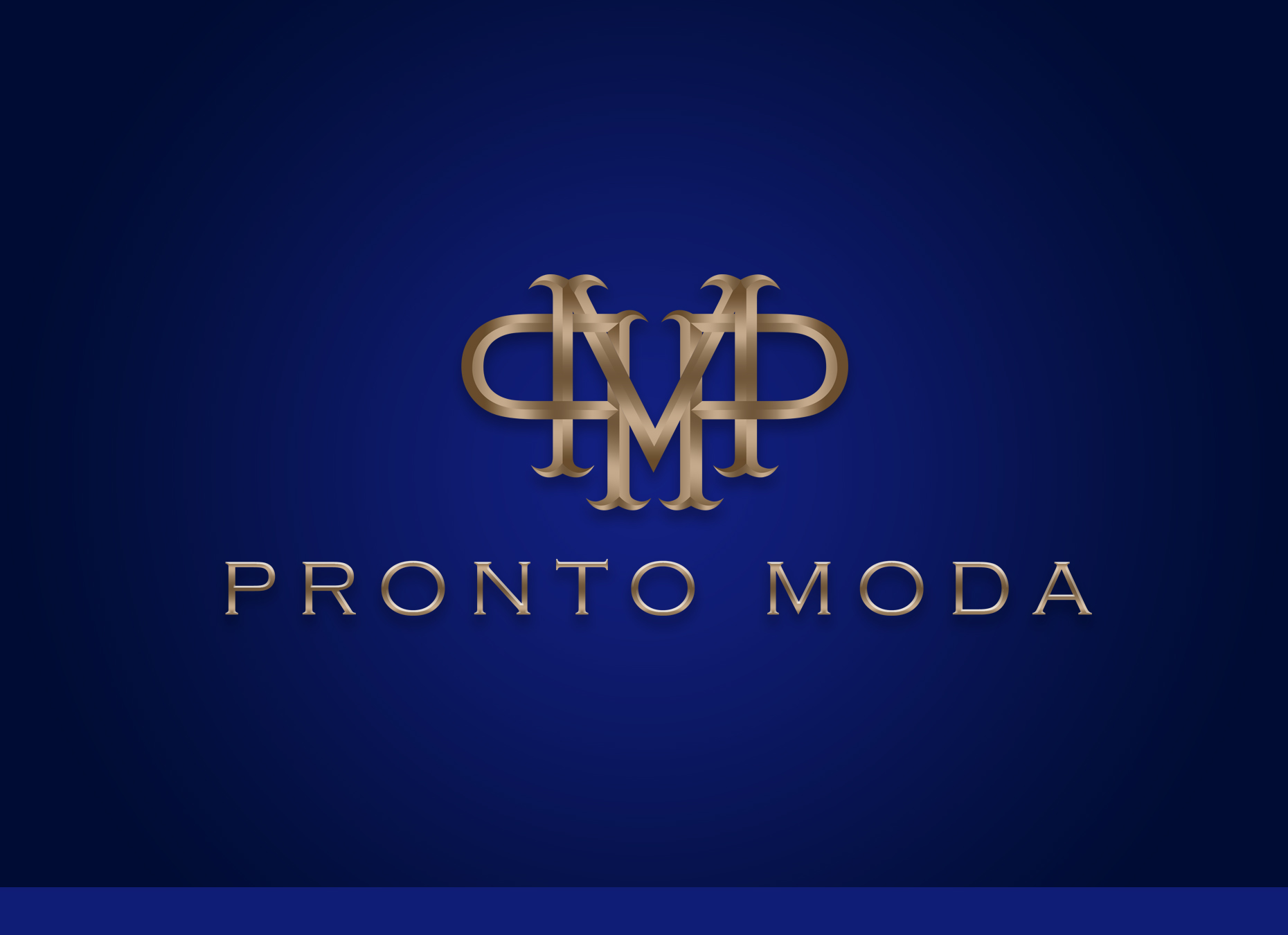 Logo Design by omARTist - Entry No. 14 in the Logo Design Contest Captivating Logo Design for Pronto moda.