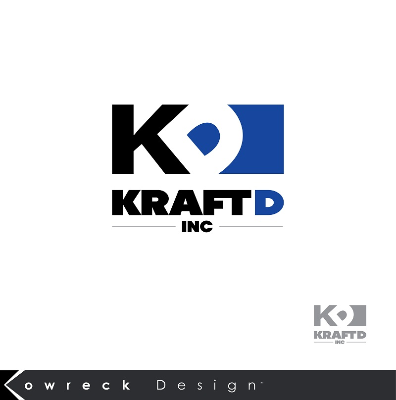 Logo Design by kowreck - Entry No. 292 in the Logo Design Contest Unique Logo Design Wanted for Kraft D Inc.