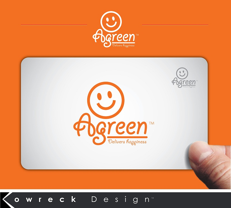 Logo Design by kowreck - Entry No. 130 in the Logo Design Contest Inspiring Logo Design for Agreen.