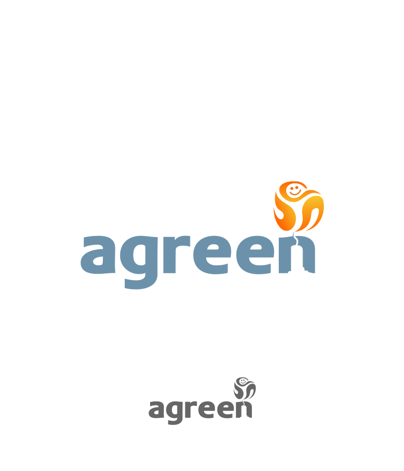 Logo Design by Muhammad Nasrul chasib - Entry No. 131 in the Logo Design Contest Inspiring Logo Design for Agreen.