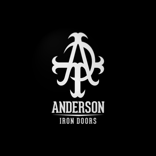 Logo Design by Private User - Entry No. 28 in the Logo Design Contest Artistic Logo Design for Anderson Iron Doors.