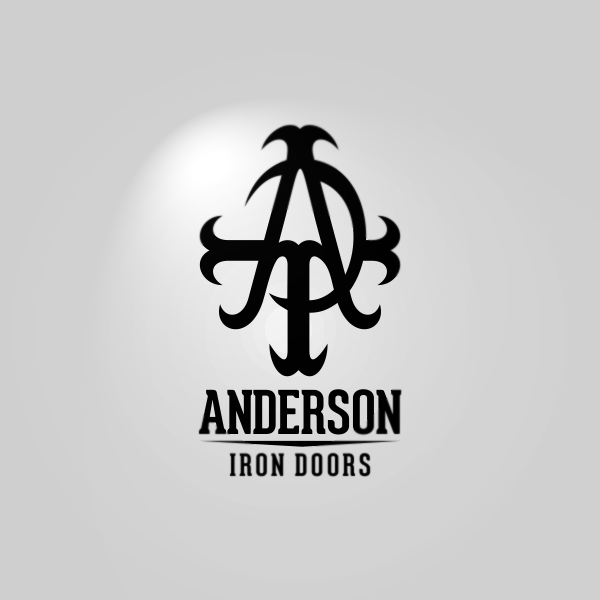 Logo Design by Private User - Entry No. 29 in the Logo Design Contest Artistic Logo Design for Anderson Iron Doors.