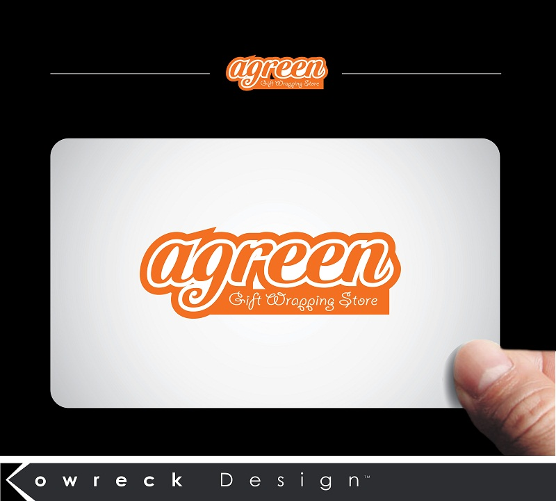 Logo Design by kowreck - Entry No. 133 in the Logo Design Contest Inspiring Logo Design for Agreen.