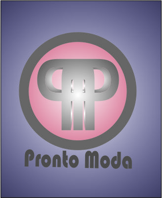 Logo Design by Agus Martoyo - Entry No. 15 in the Logo Design Contest Captivating Logo Design for Pronto moda.