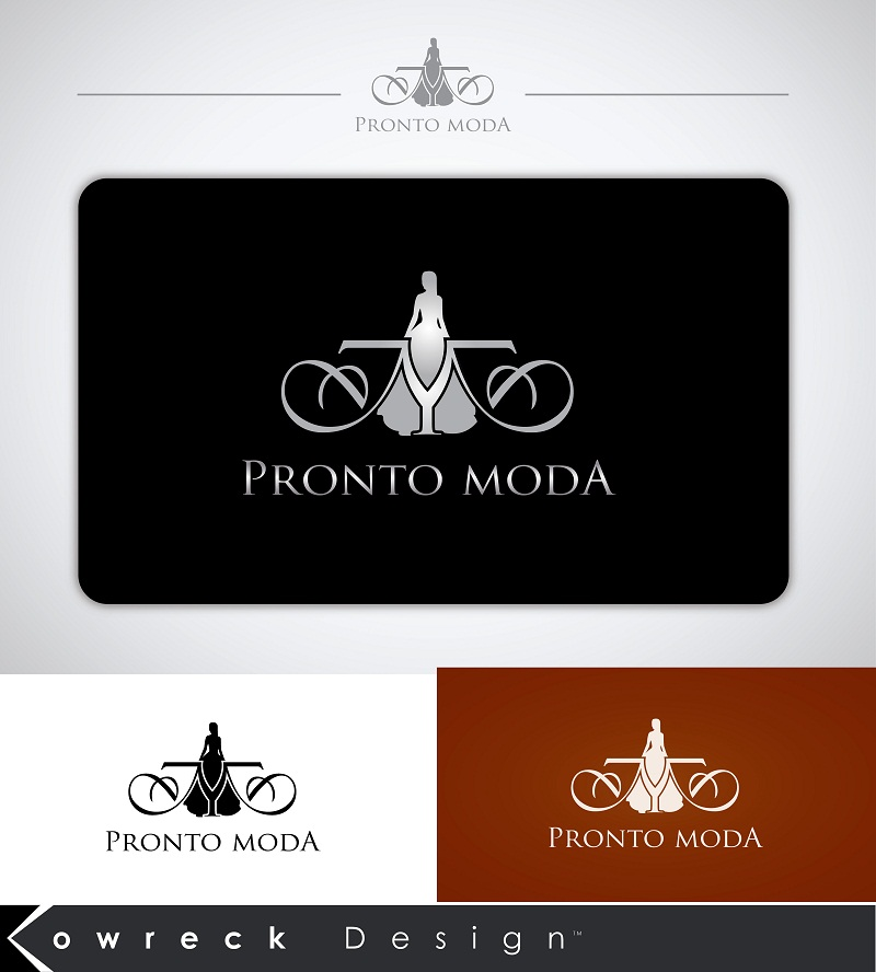 Logo Design by kowreck - Entry No. 19 in the Logo Design Contest Captivating Logo Design for Pronto moda.