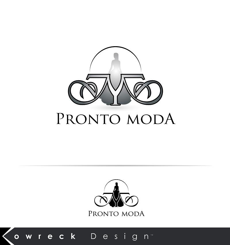 Logo Design by kowreck - Entry No. 20 in the Logo Design Contest Captivating Logo Design for Pronto moda.