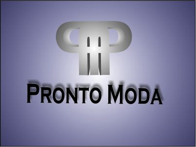 Logo Design by Agus Martoyo - Entry No. 21 in the Logo Design Contest Captivating Logo Design for Pronto moda.