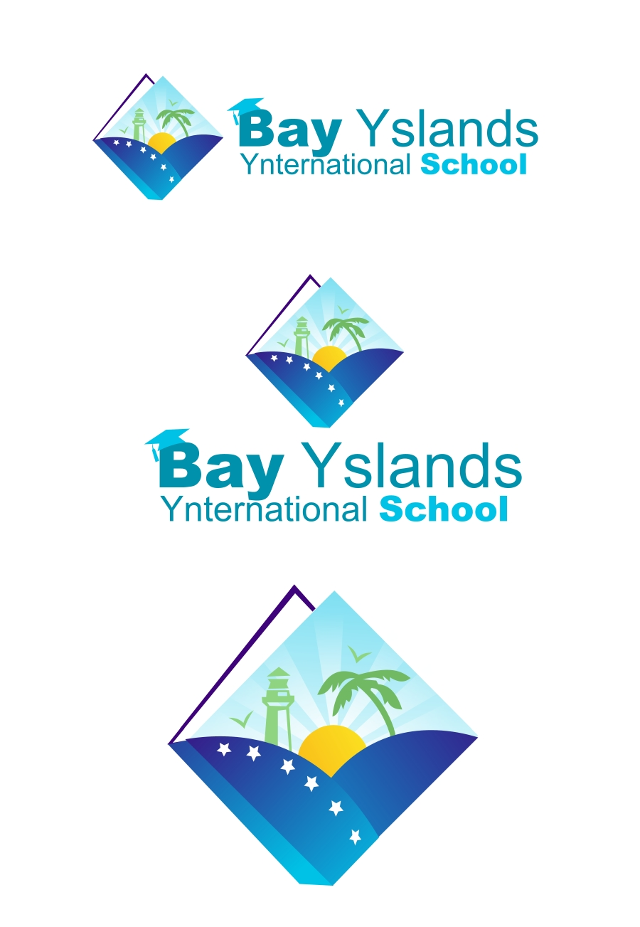 Logo Design by Private User - Entry No. 44 in the Logo Design Contest Creative Logo Design for Bay Islands International School.