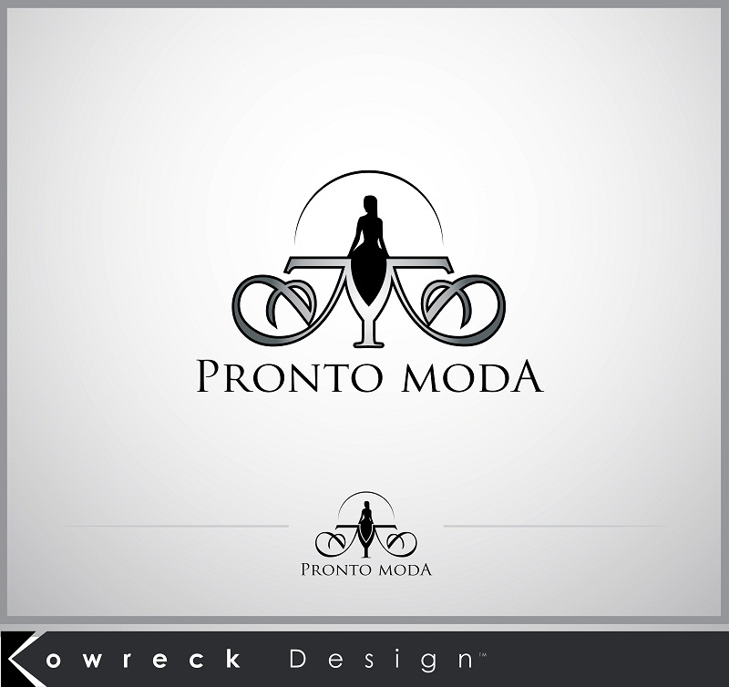 Logo Design by kowreck - Entry No. 22 in the Logo Design Contest Captivating Logo Design for Pronto moda.