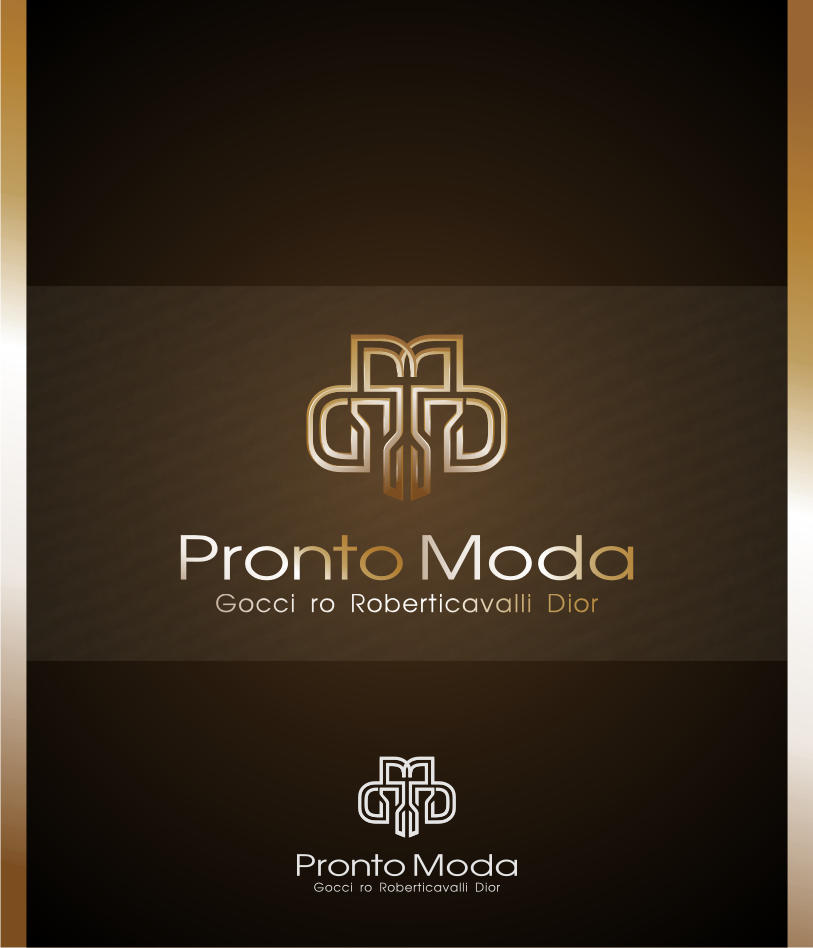 Logo Design by graphicleaf - Entry No. 23 in the Logo Design Contest Captivating Logo Design for Pronto moda.