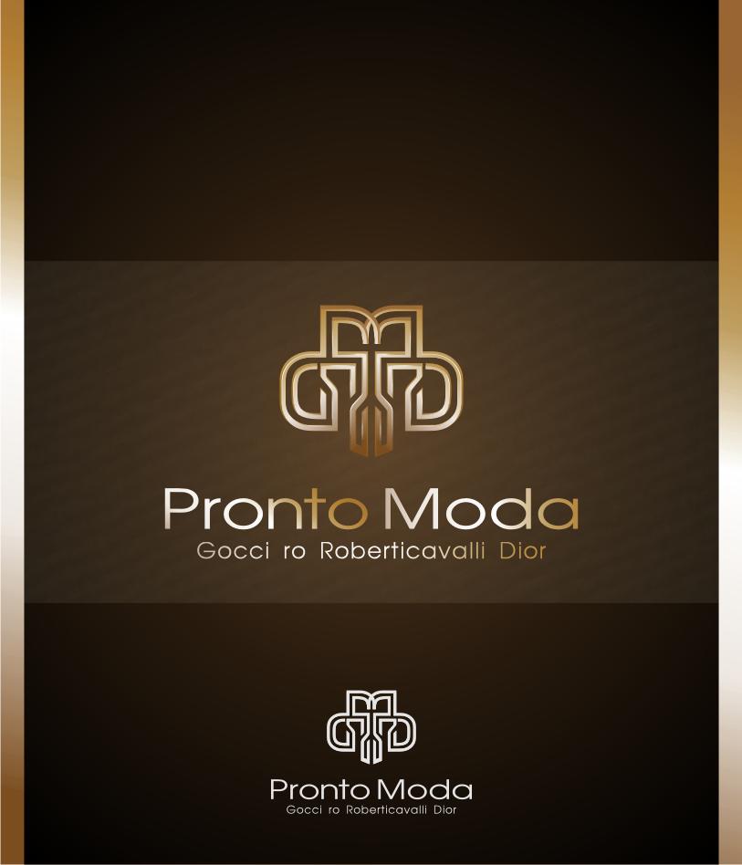 Logo Design by Muhammad Nasrul chasib - Entry No. 23 in the Logo Design Contest Captivating Logo Design for Pronto moda.