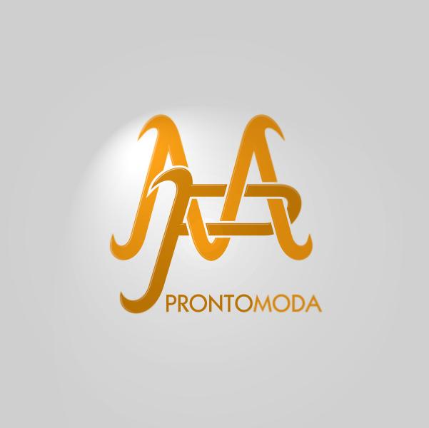 Logo Design by Private User - Entry No. 25 in the Logo Design Contest Captivating Logo Design for Pronto moda.