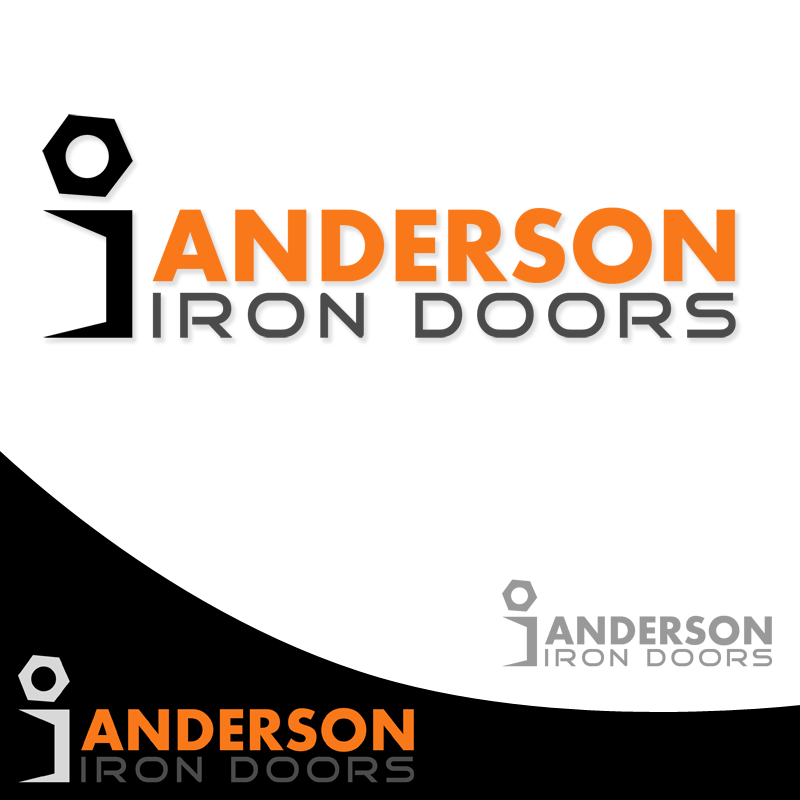 Logo Design by Private User - Entry No. 30 in the Logo Design Contest Artistic Logo Design for Anderson Iron Doors.