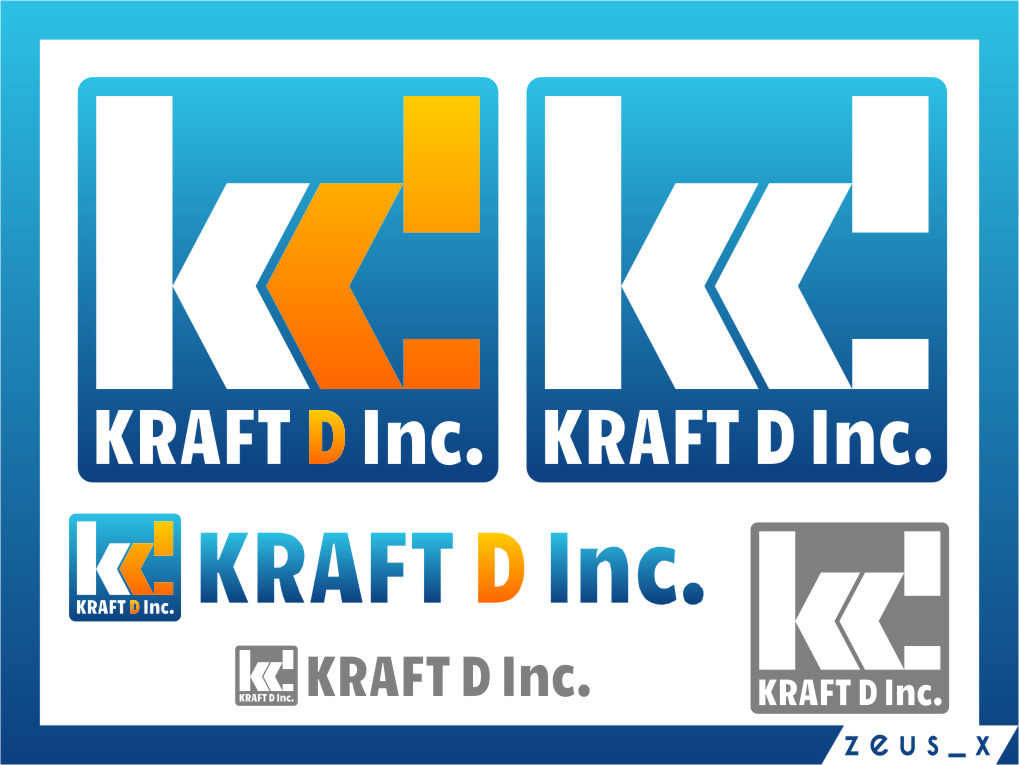 Logo Design by Ngepet_art - Entry No. 294 in the Logo Design Contest Unique Logo Design Wanted for Kraft D Inc.