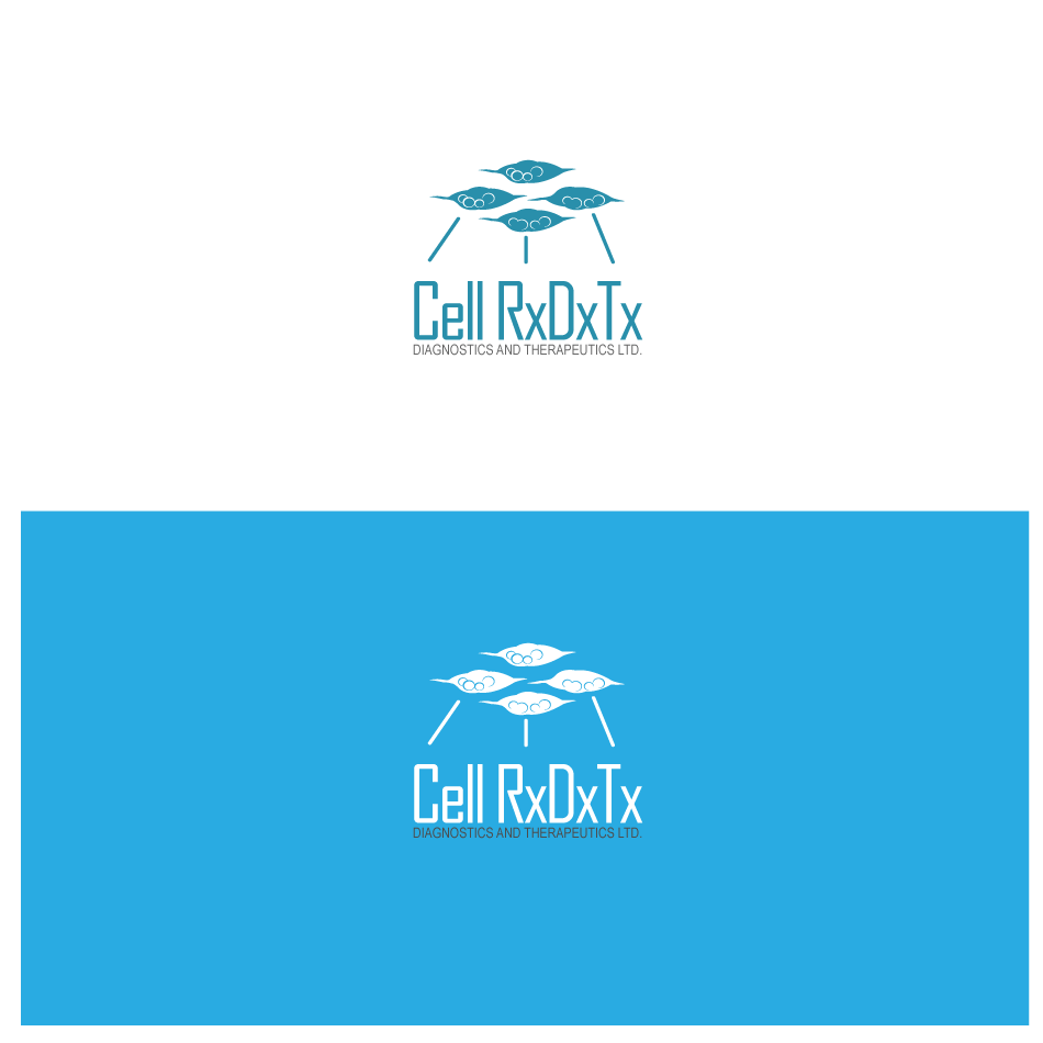 Logo Design by GraySource - Entry No. 77 in the Logo Design Contest Cell Research, Diagnostics & Therapeutics Ltd (RxDxTx).