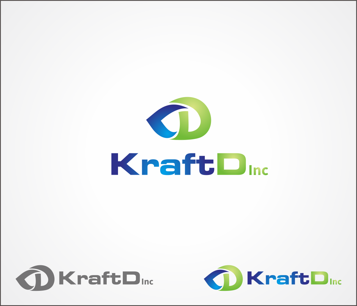 Logo Design by Armada Jamaluddin - Entry No. 303 in the Logo Design Contest Unique Logo Design Wanted for Kraft D Inc.