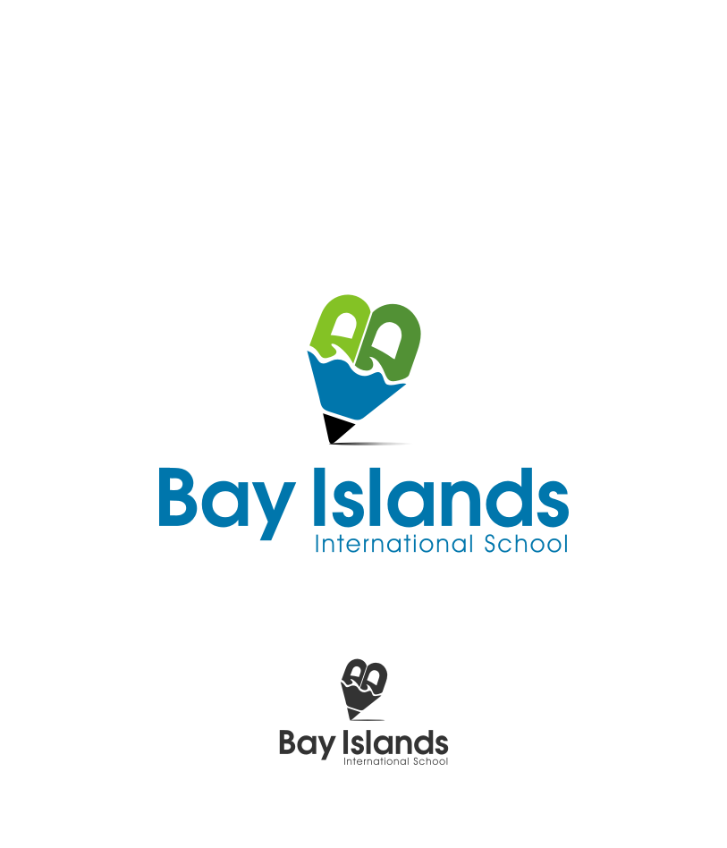 Logo Design by graphicleaf - Entry No. 54 in the Logo Design Contest Creative Logo Design for Bay Islands International School.