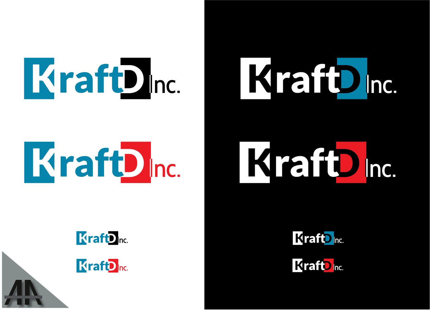 Logo Design by Thanasis Athanasopoulos - Entry No. 307 in the Logo Design Contest Unique Logo Design Wanted for Kraft D Inc.
