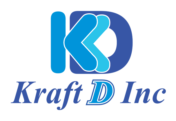 Logo Design by Mohamed Sheikh - Entry No. 308 in the Logo Design Contest Unique Logo Design Wanted for Kraft D Inc.