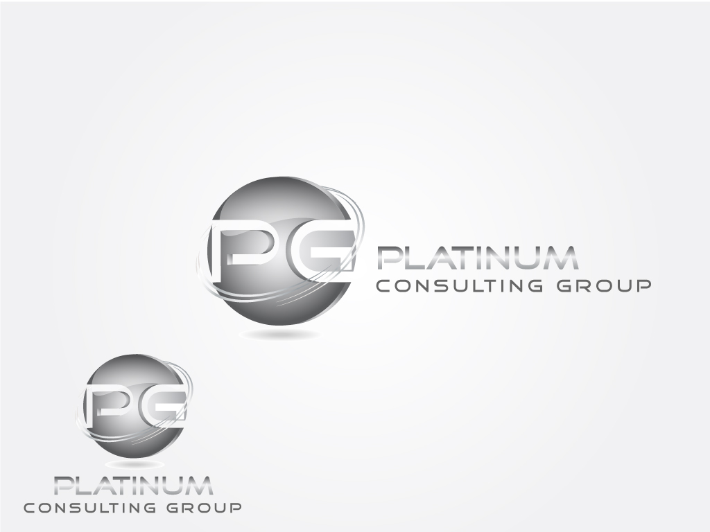 Logo Design by Jagdeep Singh - Entry No. 51 in the Logo Design Contest Captivating Logo Design for Platinum Consulting Group.