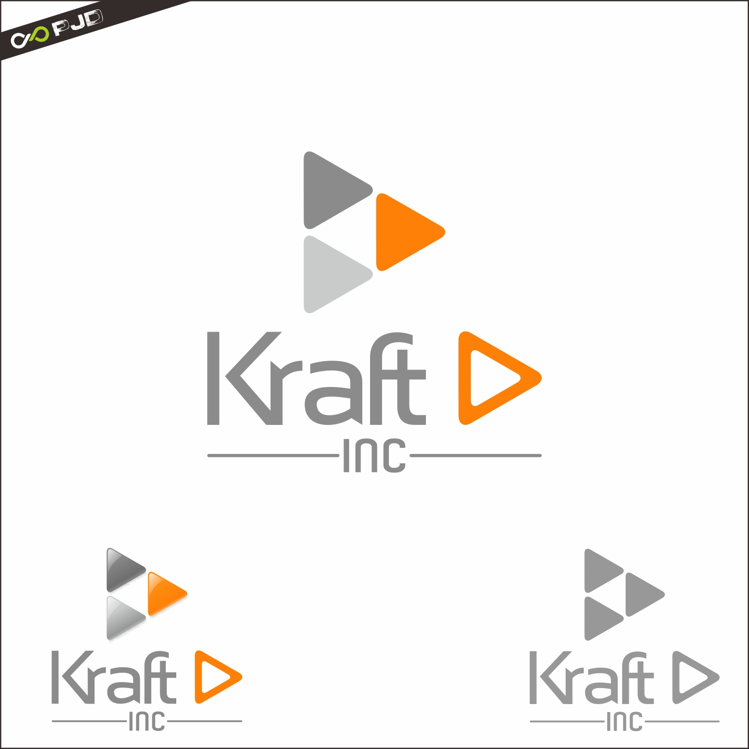 Logo Design by PJD - Entry No. 309 in the Logo Design Contest Unique Logo Design Wanted for Kraft D Inc.