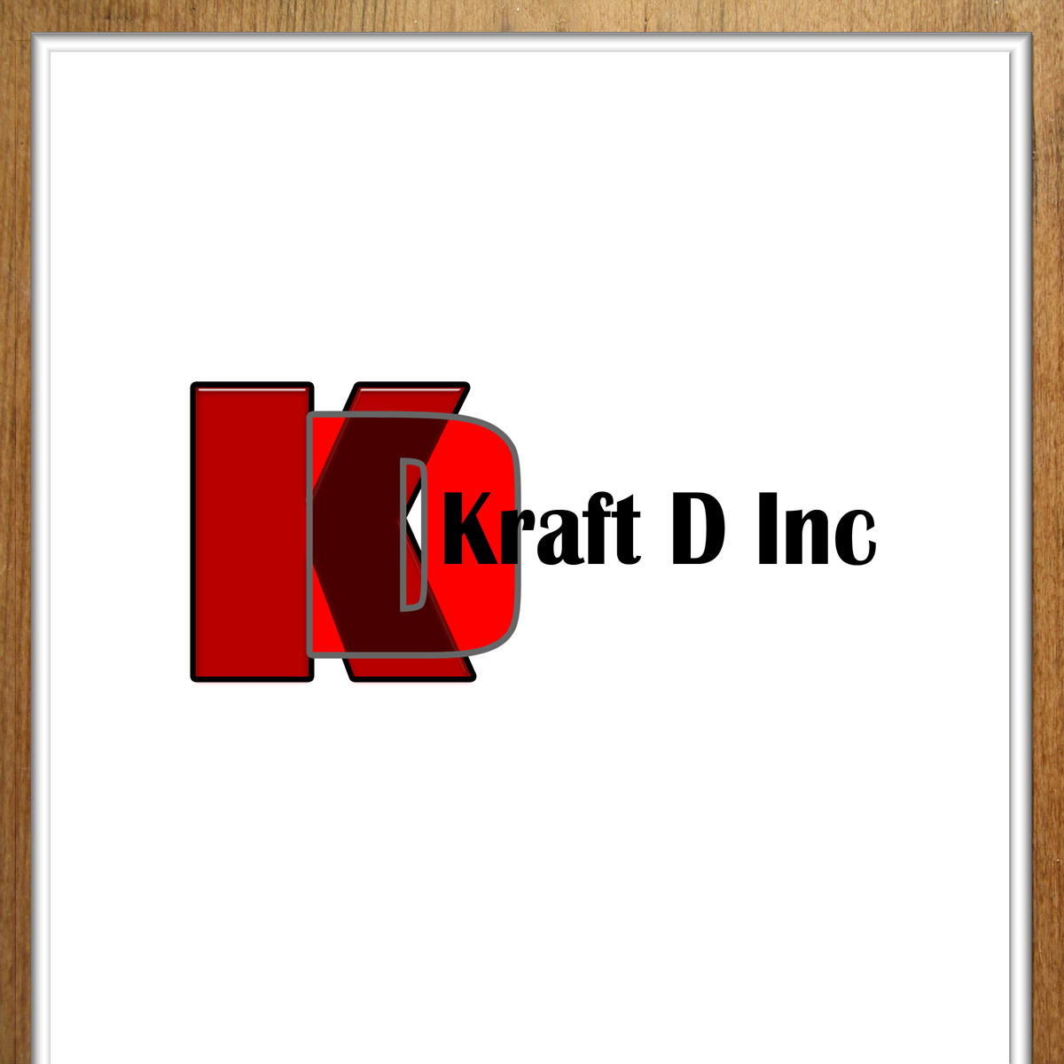 Logo Design by MITUCA ANDREI - Entry No. 310 in the Logo Design Contest Unique Logo Design Wanted for Kraft D Inc.