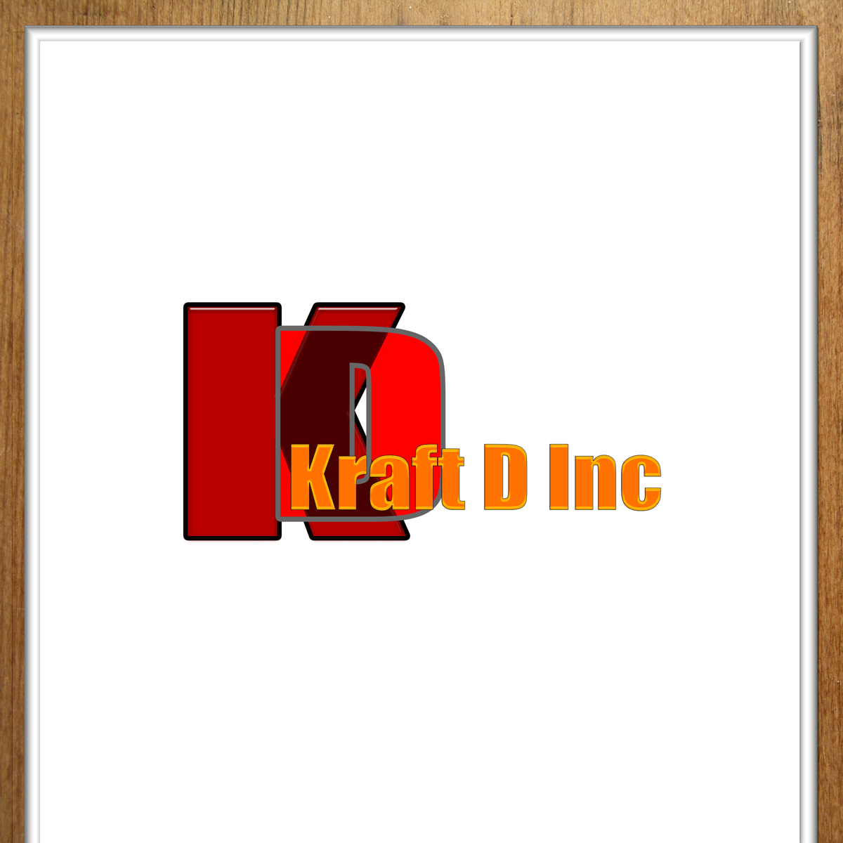 Logo Design by MITUCA ANDREI - Entry No. 316 in the Logo Design Contest Unique Logo Design Wanted for Kraft D Inc.