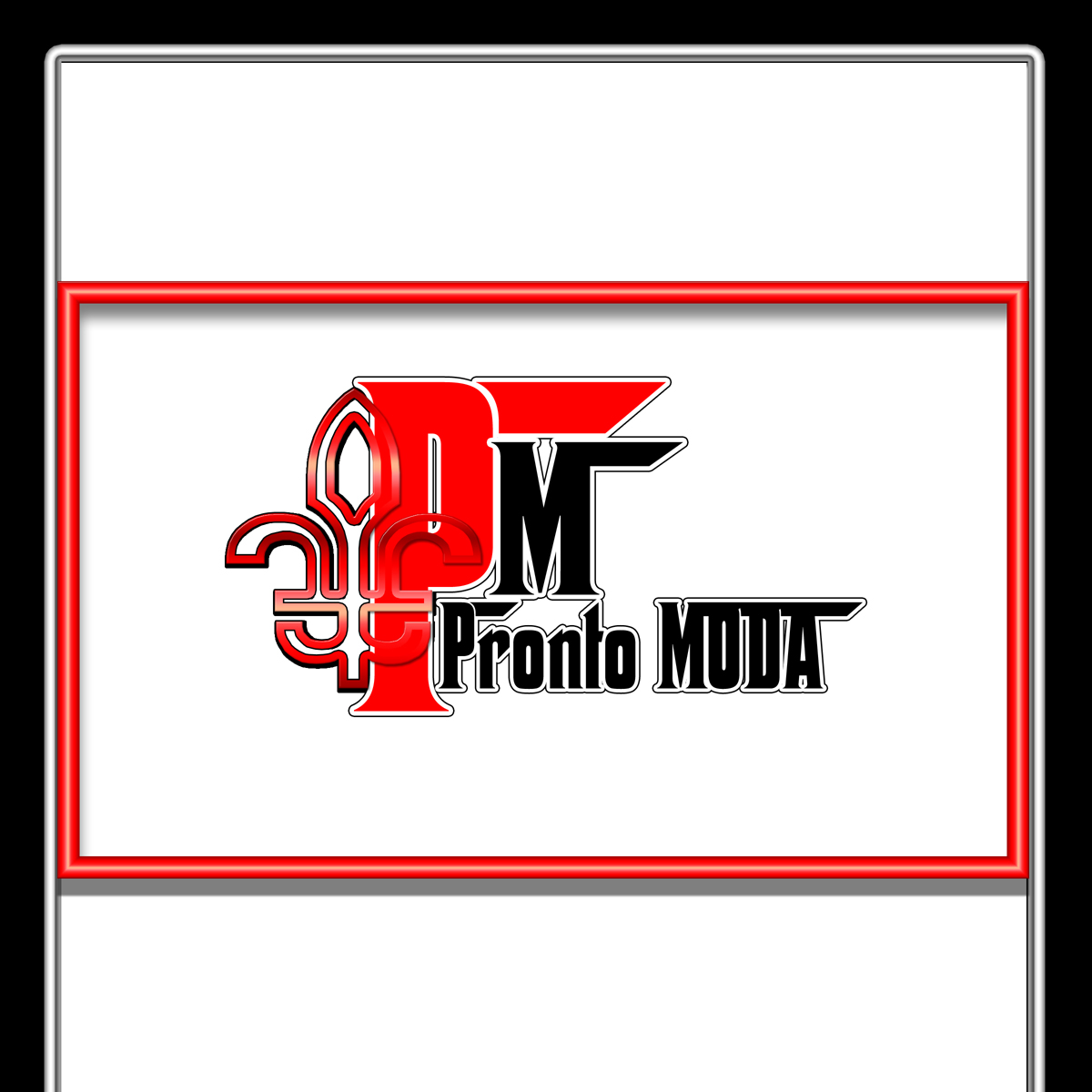 Logo Design by MITUCA ANDREI - Entry No. 27 in the Logo Design Contest Captivating Logo Design for Pronto moda.