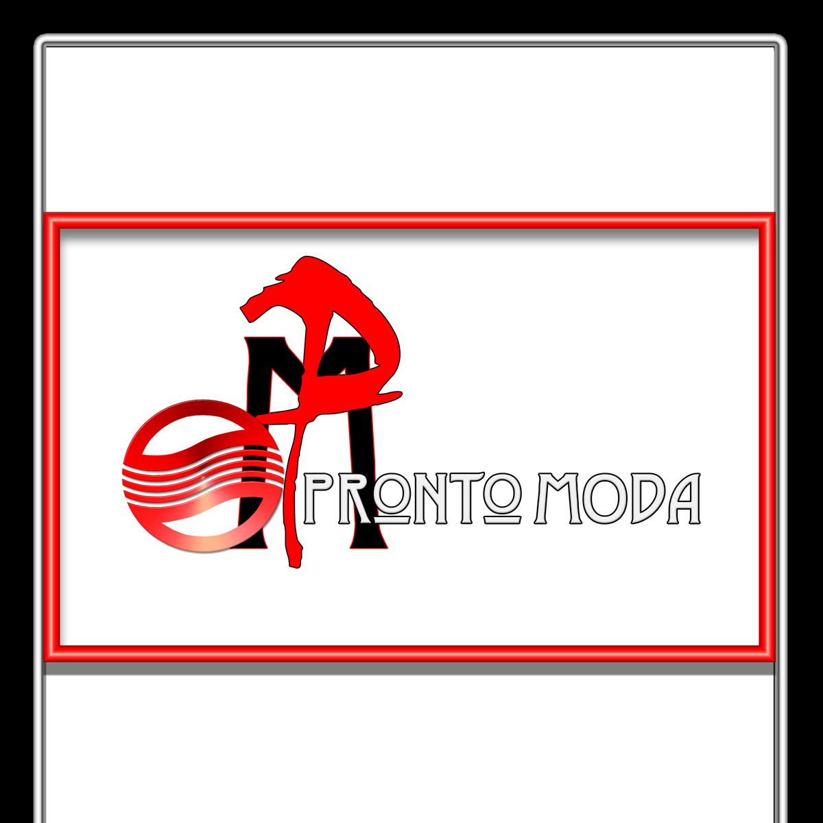 Logo Design by MITUCA ANDREI - Entry No. 28 in the Logo Design Contest Captivating Logo Design for Pronto moda.