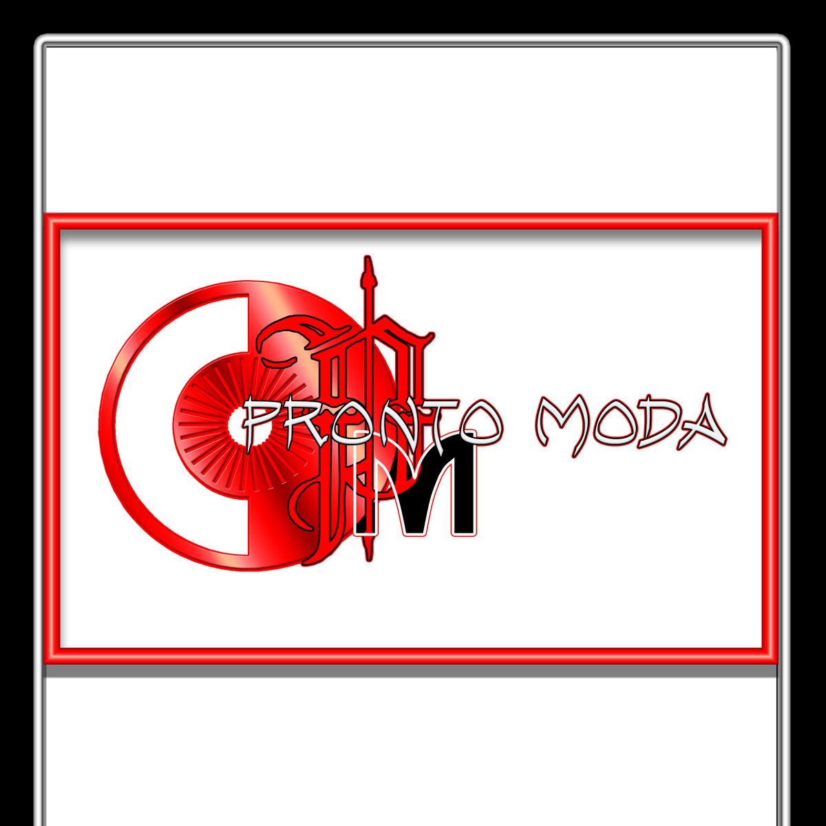 Logo Design by MITUCA ANDREI - Entry No. 31 in the Logo Design Contest Captivating Logo Design for Pronto moda.