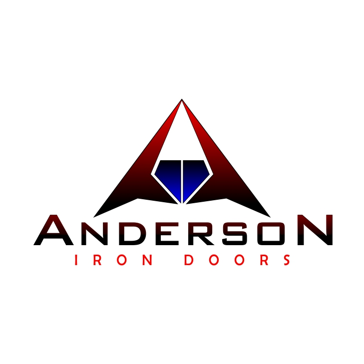 Logo Design by uya128 - Entry No. 38 in the Logo Design Contest Artistic Logo Design for Anderson Iron Doors.