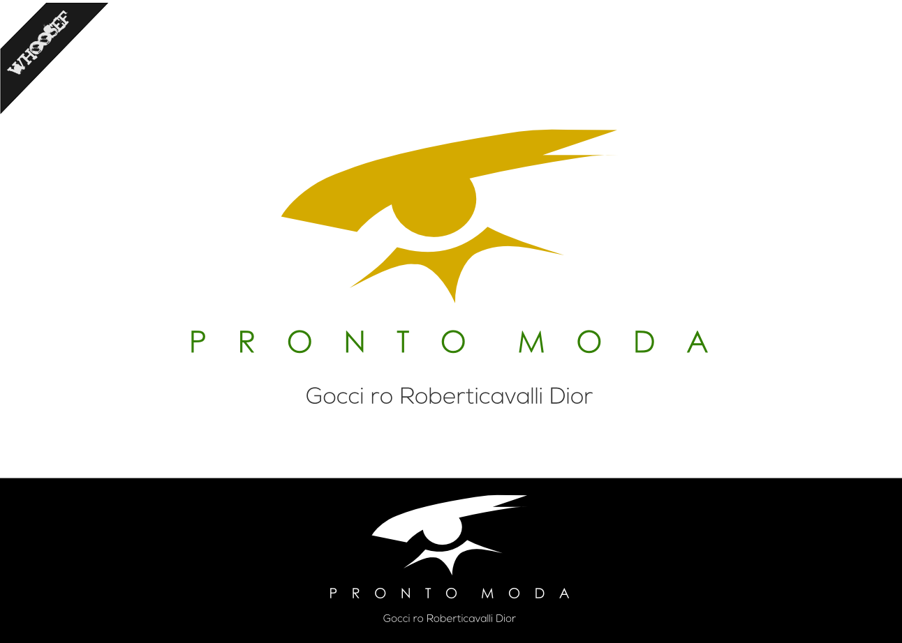 Logo Design by whoosef - Entry No. 34 in the Logo Design Contest Captivating Logo Design for Pronto moda.