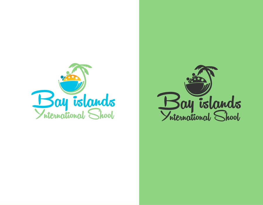 Logo Design by Private User - Entry No. 58 in the Logo Design Contest Creative Logo Design for Bay Islands International School.