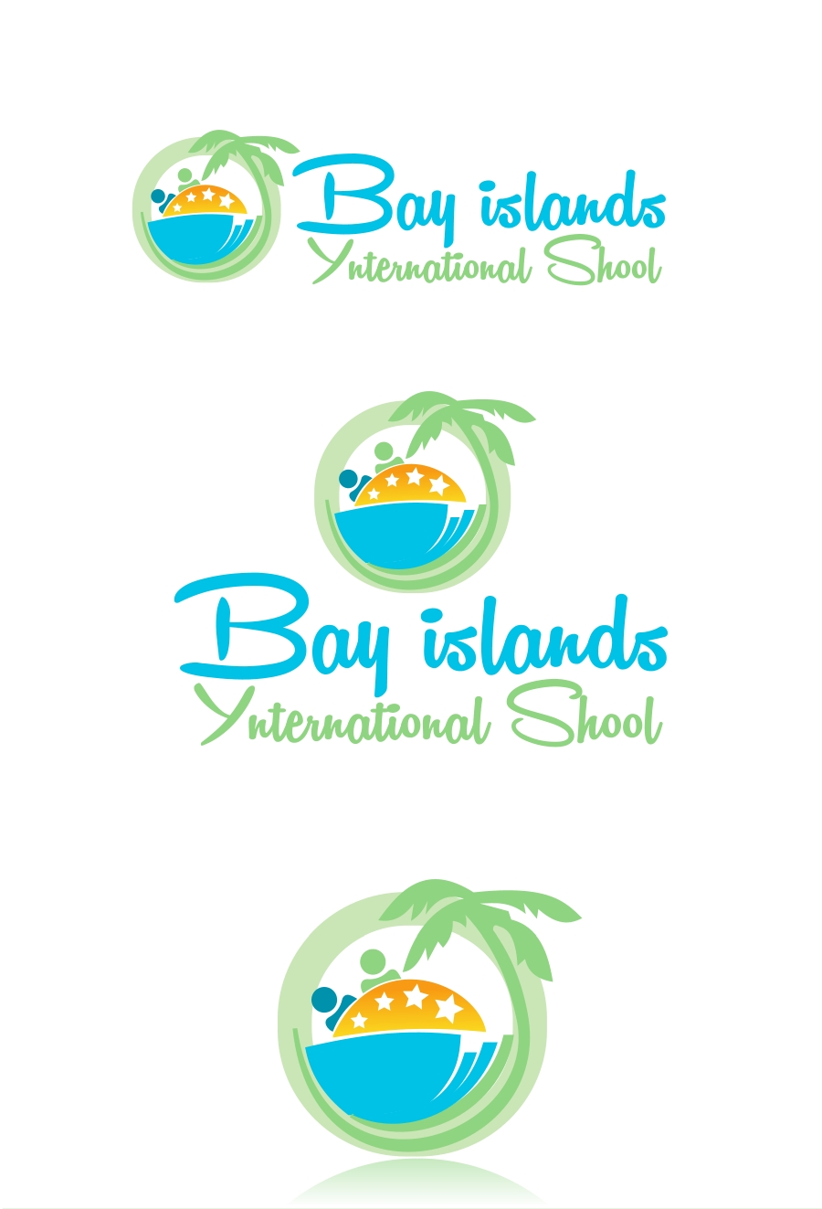 Logo Design by Private User - Entry No. 60 in the Logo Design Contest Creative Logo Design for Bay Islands International School.
