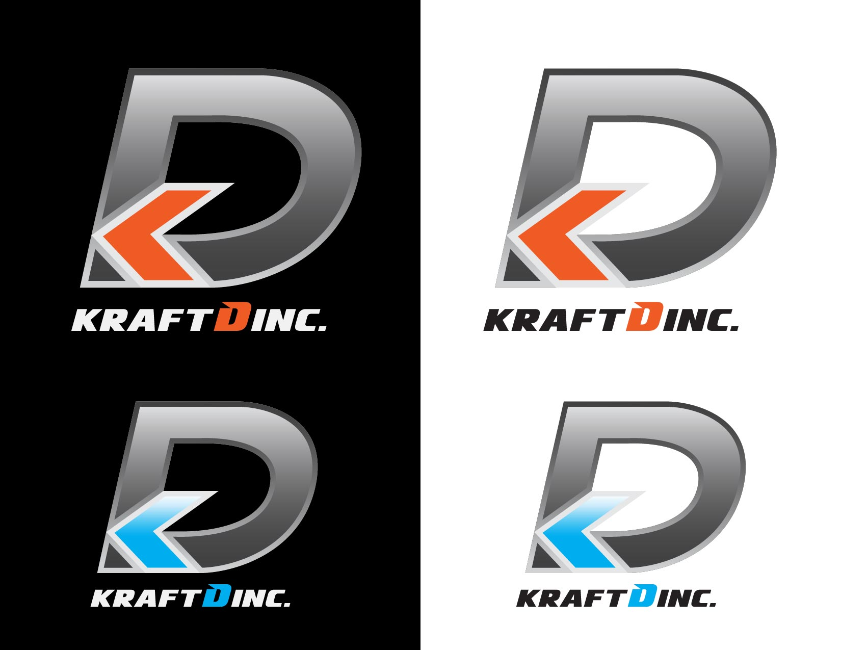Logo Design by Emil Angelo Osias - Entry No. 318 in the Logo Design Contest Unique Logo Design Wanted for Kraft D Inc.