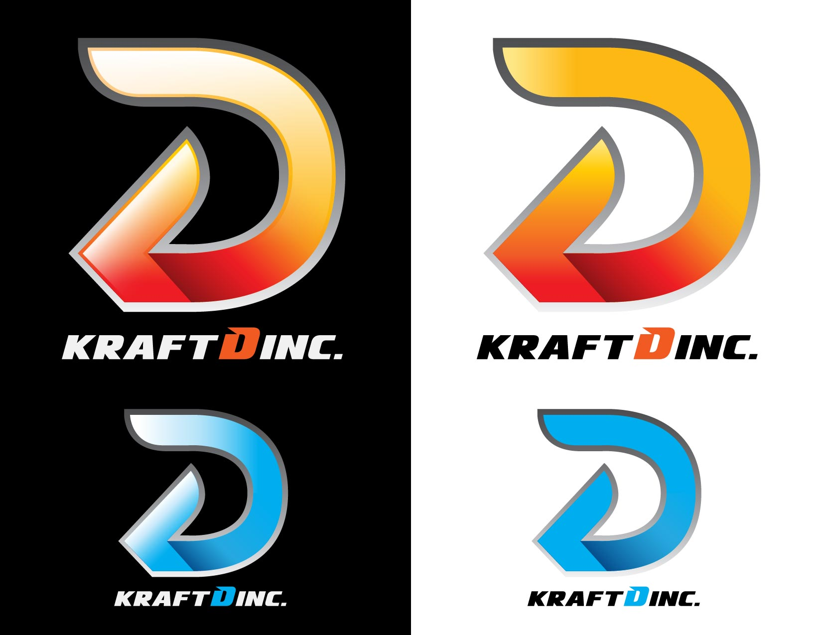 Logo Design by Emil Angelo Osias - Entry No. 319 in the Logo Design Contest Unique Logo Design Wanted for Kraft D Inc.