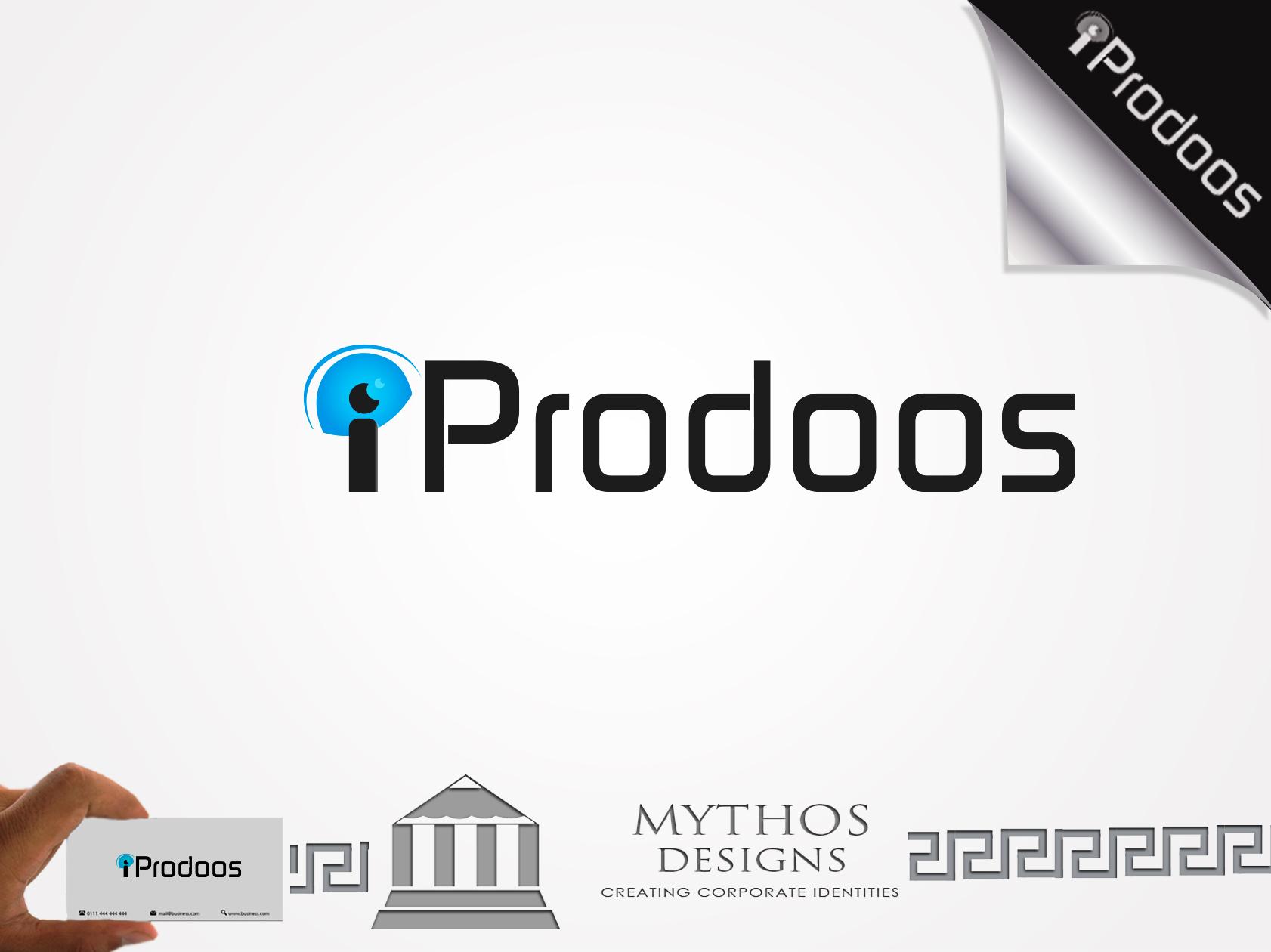 Logo Design by Mythos Designs - Entry No. 14 in the Logo Design Contest New Logo Design for iProdoos.
