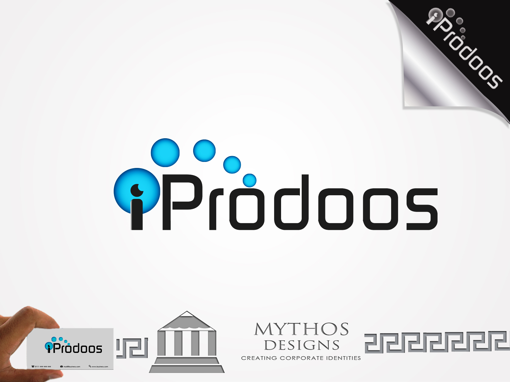 Logo Design by Mythos Designs - Entry No. 15 in the Logo Design Contest New Logo Design for iProdoos.