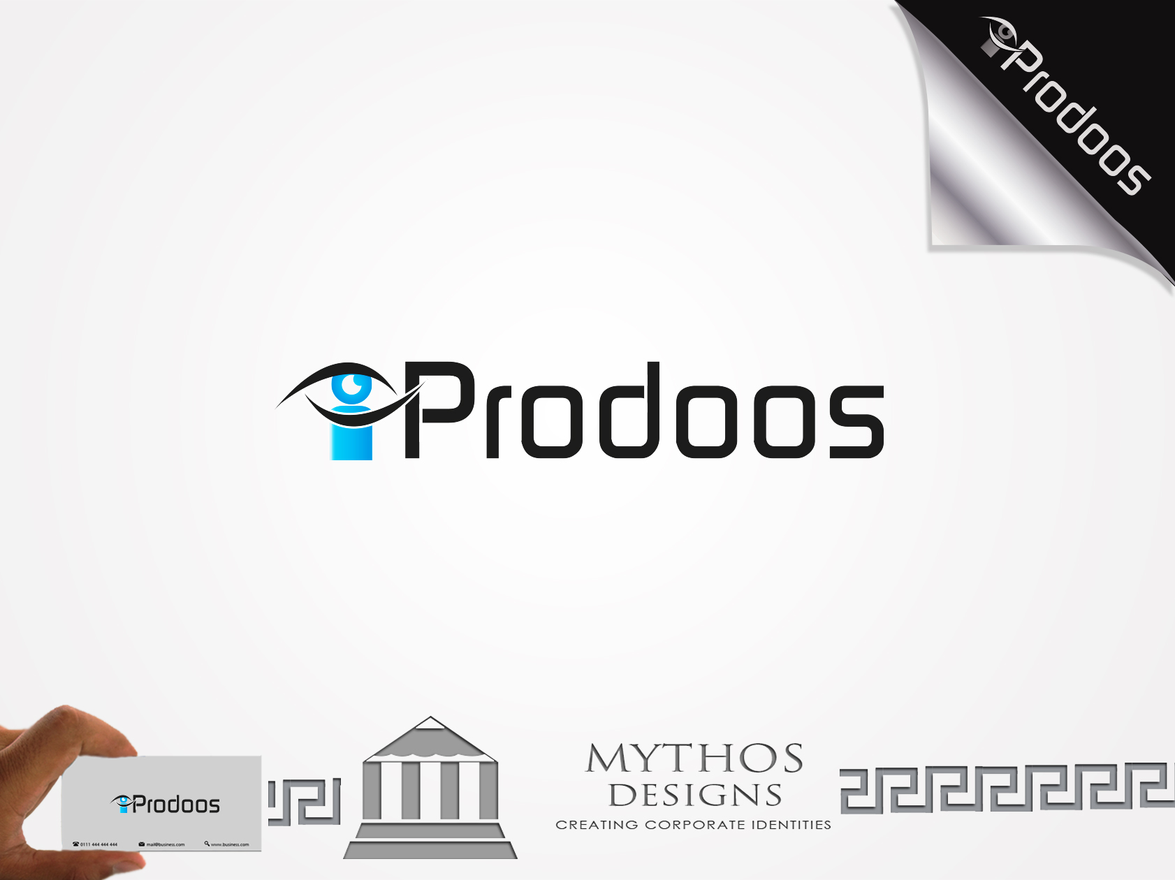 Logo Design by Mythos Designs - Entry No. 19 in the Logo Design Contest New Logo Design for iProdoos.