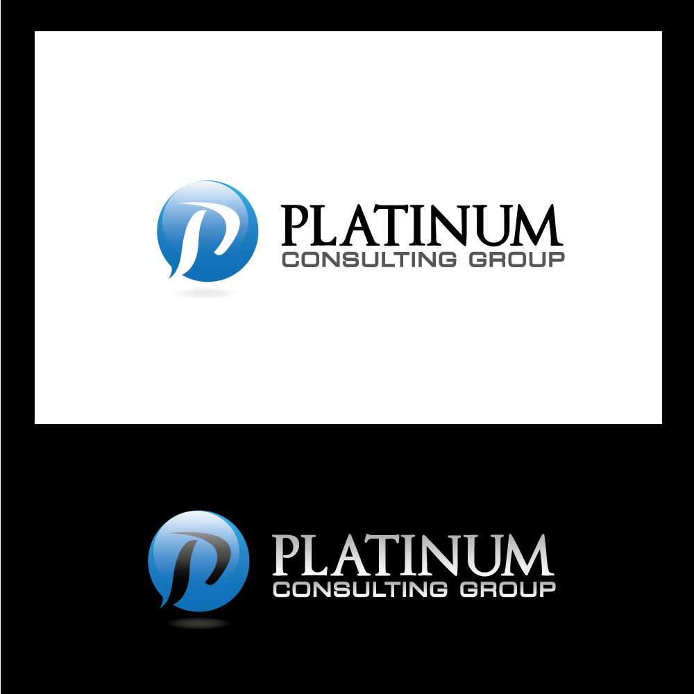 Logo Design by rockin - Entry No. 53 in the Logo Design Contest Captivating Logo Design for Platinum Consulting Group.
