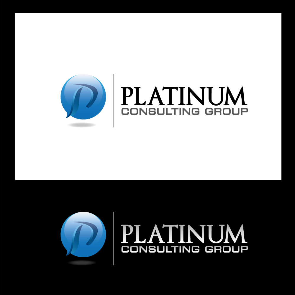 Logo Design by rockin - Entry No. 54 in the Logo Design Contest Captivating Logo Design for Platinum Consulting Group.