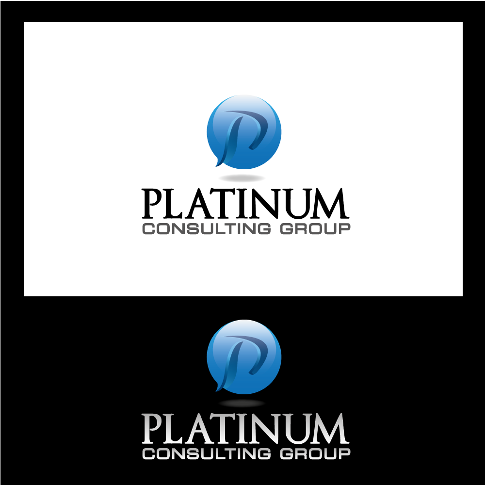 Logo Design by rockin - Entry No. 55 in the Logo Design Contest Captivating Logo Design for Platinum Consulting Group.